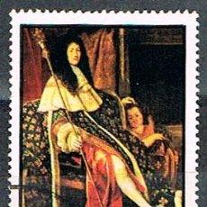 Sellos: RAS AL KHAIMA Nº 493,LUIS XVI DE FRANCIA, USADO. Lote 199307260
