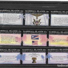 Timbres: MARSHALL Nº 147 AL 155 (**). Lote 166191490