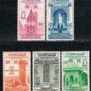 Sellos: MARRUECOS IVERT Nº 405/9, 1.100 ANIVº DE LA UNIVERSIDAD DE KARAUYN, NUEVO CHARNELA (SERIE COMPLE. Lote 168619796