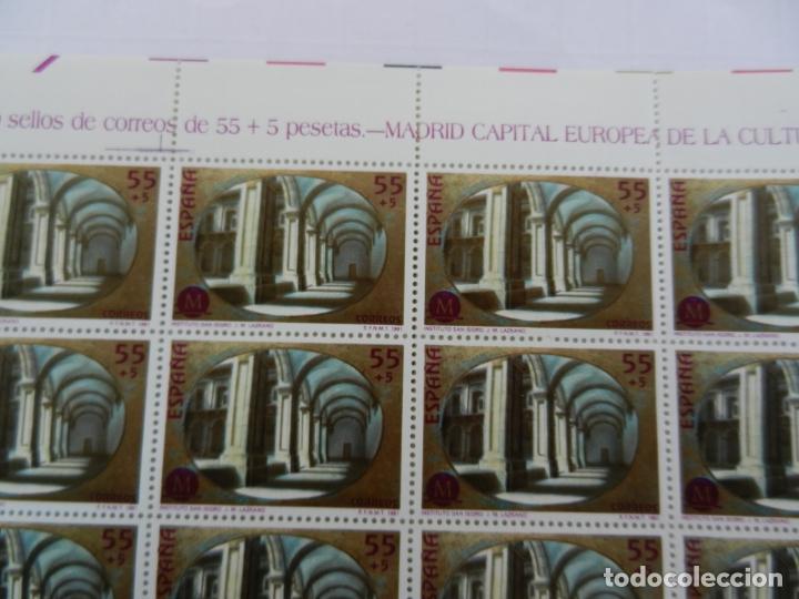 PLIEGO 50 SELLOS 55+5 PTA. 1991. MADRID CAPITAL EUROPEA DE LA CULTURA. INST. SAN ISIDRO. (Sellos - Temáticas - Historia)