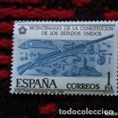 Sellos: EDIFIL 2322, BICENTENARIO DE LOS ESTADOS UNIDOS,FUSIL MODELO 1757 ( NUEVO ). Lote 177682164
