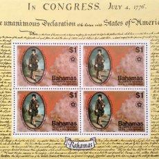 Sellos: BAHAMAS. HB 16 BICENTENARIO INDEPENDENCIA USA: JOHN MURRAY, CONDE DE DUNMORE. 1976. SELLOS NUEVOS Y . Lote 182238316