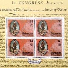 Sellos: BAHAMAS. HB 16 BICENTENARIO INDEPENDENCIA USA: JOHN MURRAY, CONDE DE DUNMORE. 1976. SELLOS NUEVOS Y . Lote 182238365