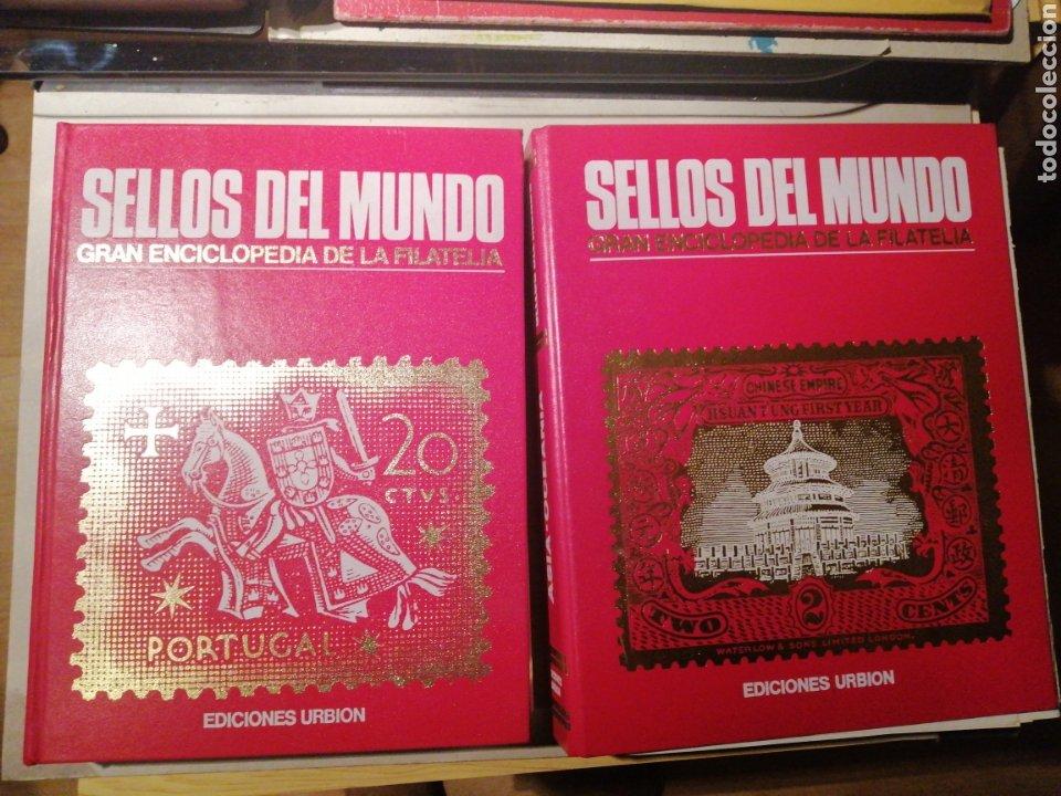 SELLOS DEL MUNDO DOS TOMOS - ED. URBION - (Sellos - Temáticas - Historia)