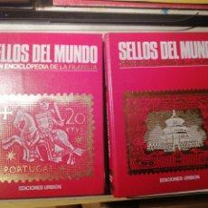 Sellos: SELLOS DEL MUNDO DOS TOMOS - ED. URBION -. Lote 189435077