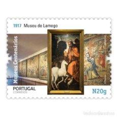 Sellos: PORTUGAL ** & MUSEOS CENTENARIOS DE PORTUGAL, GRUPO II, MUSEO LAMEGO 2020 (5749). Lote 198805651