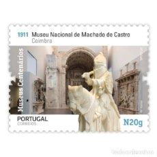Sellos: PORTUGAL ** & MUSEOS CENTENARIOS DE PORTUGAL, GRUPO II, MUSEO MACHADO DE CASTRO, COIMBRA 2020 (5754). Lote 198849612