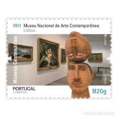 Sellos: PORTUGAL ** & MUSEOS CENTENARIOS DE PORTUGAL, GRUPO II, MUSEO DE ARTE CONTEMPORÁNEO 2020 (5756). Lote 198850197