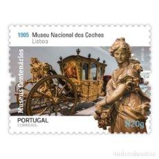 Sellos: PORTUGAL ** & MUSEOS CENTENARIOS DE PORTUGAL, GRUPO II, MUSEO DEL ENTRENADOR, LISBOA 2020 (5758). Lote 198850993