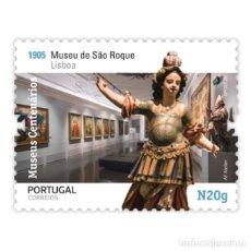 Sellos: PORTUGAL ** & MUSEOS CENTENARIOS DE PORTUGAL, GRUPO II, MUSEO S. ROQUE, LISBOA 2020 (5759). Lote 198851058