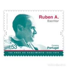 Sellos: PORTUGAL ** & HISTORIA Y CULTURA,100 AÑOS DE RUBEN A., ESCRITOR 2020 (5751) . Lote 198854758