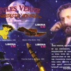 Sellos: SELLOS LIBERIA 2005 JULIO VERNE. Lote 198933280