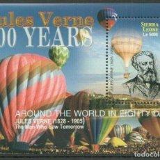 Sellos: SELLOS SIERRA LEONE 2005 JULIO VERNE. Lote 198933372