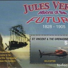 Sellos: SELLOS ST. VINCENT & GRENADINES 2005 JULIO VERNE. Lote 198933587