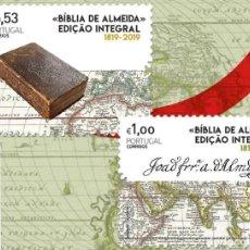 Sellos: PORTUGAL ** & 200 AÑOS DE LA EDICIÓN DE LA BIBLIA DE ALMEIDA, PROTESTANTISMO 1819-2019 (8421). Lote 200395878