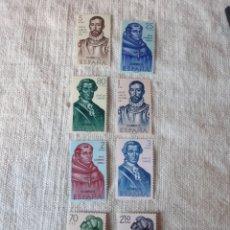 Sellos: 1963 FORJADORES DE AMÉRICA SERIE COMPLETA PERFECTA EDIFIL 1526/33 FILATELIA COLISEVM. Lote 204011427