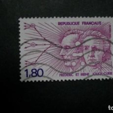 Timbres: /14.05/-FRANCIA-1982-1,80 F. Y&T 2218 SERIE COMPLETA EN USADO /º/-PERSONAJES. Lote 204109835