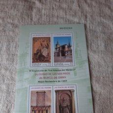 Sellos: 1991 ESPAÑA BURGO OSMA EDADES HOMBRE EXPOSICIÓN EDIFIL NÚMERO 63 PVP 12 EUROS. Lote 205169368
