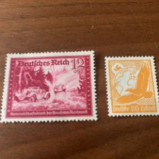Timbres: 2 SELLOS TERCER REICH. Lote 205604303