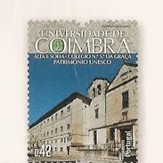 Sellos: PORTUGAL ** & PATRIMONIO DE LA UNESCO, UNIVERSIDAD DE COIMBRA, ALTA Y SOFÍA 2014 (3488). Lote 205661617