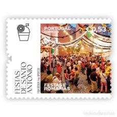 Sellos: PORTUGAL ** & FIESTAS Y PEREGRINACIONES DE PORTUGAL, FIESTAS DE SANTO ANTONIO, LISBOA 2020 (864. Lote 206419303