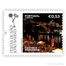 Sellos: PORTUGAL ** & FIESTAS Y PEREGRINACIONES DE PORTUGAL, FIESTAS DE SÃO JOÃO BAPTISTA, PORTO 2020 (86429. Lote 206421463