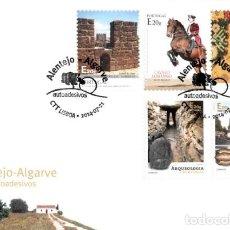 Sellos: PORTUGAL & FDC ALENTEJO Y ALGARVE AUTOADHESIVOS 2014 (6800). Lote 207131261