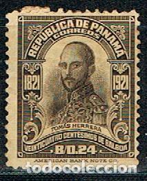 PANAMA Nº 190, CENTENARIO DE LA INDEPENDENCIA DE ESPAÑA, TOMÁS HERRERA, NUEVO * (Sellos - Temáticas - Historia)