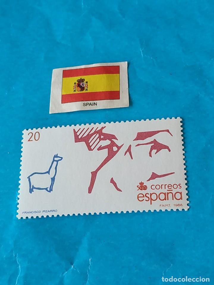 ESPAÑA CONQUISTADORES 6 (Sellos - Temáticas - Historia)