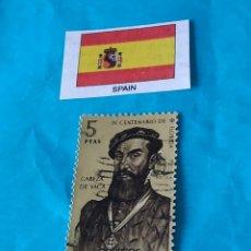 Sellos: ESPAÑA CONQUISTADORES 11. Lote 213020500