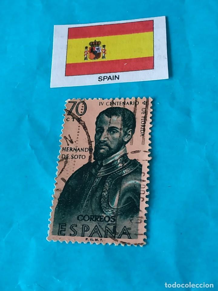 ESPAÑA CONQUISTADORES 13 (Sellos - Temáticas - Historia)