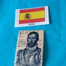 Sellos: ESPAÑA CONQUISTADORES 17. Lote 213020900