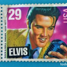 Sellos: SELLO ELVIS USA ROCK AND ROLL SINGER 1935-1977 (29). Lote 216550117