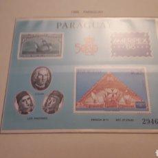 Timbres: PARAGUAY. QUINTO CENTENARIO 1986. EN HOJA FILABO. SIN CIRCULAR. DANI.. Lote 218423602