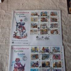 Sellos: EPISTOLAR ESCOLAR HISTORIA ESPAÑA 1998 EDIFIL 3560/83 MP 61A B. Lote 222730346