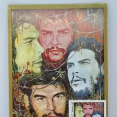 Sellos: CHE QUEVARA CUBA SELLOS CORRESPONDENCIA SERIE 1977. Lote 223040710