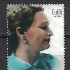 Sellos: 6069 CUBA 2016 MNH THE 55TH ANNIVERSARY OF THE DEATH OF FE DEL VALLE RAMOS, 1917-1961. Lote 226310513