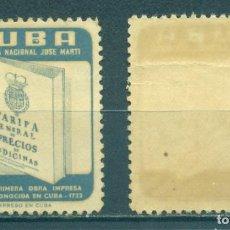 Sellos: 552-5 CUBA 1957 MNH JOSE MARTI PUBLIC LIBRARY. Lote 226311390