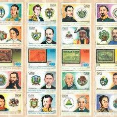 Sellos: 3237 CUBA 1988 MNH LATIN-AMERICAN HISTORY. Lote 226311661