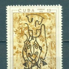 Sellos: 1587 CUBA 1970 NG THE 30TH ANNIVERSARY OF THE CUBAN SPELEOLOGICAL SOCIETY. Lote 226312555