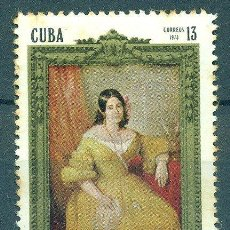 Sellos: 1851-2 CUBA 1973 MNH THE 100TH ANNIVERSARY OF THE DEATH OF GERTRUDE GOMEZ DE AVELLANEDA, POETESS. Lote 226313141