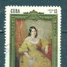 Sellos: 1851 CUBA 1973 U THE 100TH ANNIVERSARY OF THE DEATH OF GERTRUDE GOMEZ DE AVELLANEDA, POETESS. Lote 226313258