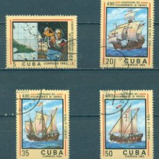 Sellos: 2702-2 CUBA 1982 U THE 490TH ANNIVERSARY OF THE DISCOVERY OF AMERICA BY COLUMBUS. Lote 226315895
