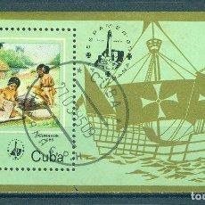 Sellos: 2937-2 CUBA 1985 U INTERNATIONAL STAMP EXHIBITION ESPAMER '85 - HAVANA, CUBA. Lote 226316268