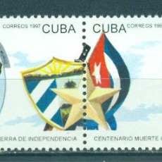 Sellos: 4028 CUBA 1997 MNH THE 100TH ANNIVERSARIES OF THE DEATH OF GENERALS KILLED DURING THE WAR OF INDEPEN. Lote 226317471