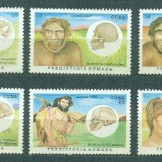 Sellos: 4081 CUBA 1997 MNH PREHISTORIC MAN. Lote 226317690