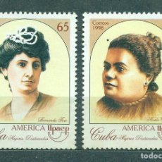 Sellos: 4170 CUBA 1998 MNH AMERICA - FAMOUS WOMEN - INDEPENDENCE ACTIVISTS. Lote 226317843