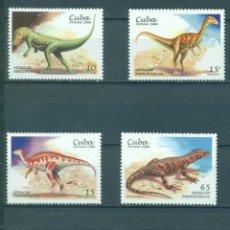 Sellos: 4201 CUBA 1999 MNH PREHISTORIC ANIMALS. Lote 226317890