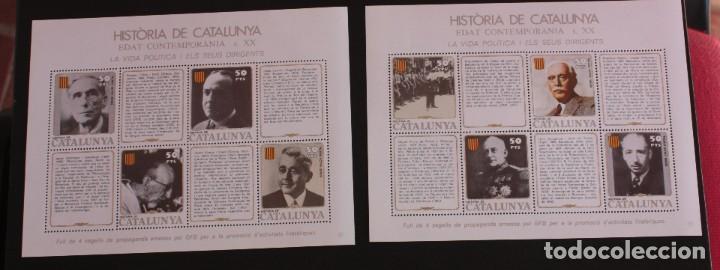 Sellos: HISTORIA DE CATALUNYA EN SELLOS. GREMIO DE FILATELIA DE BARCELONA. - Foto 3 - 227270565