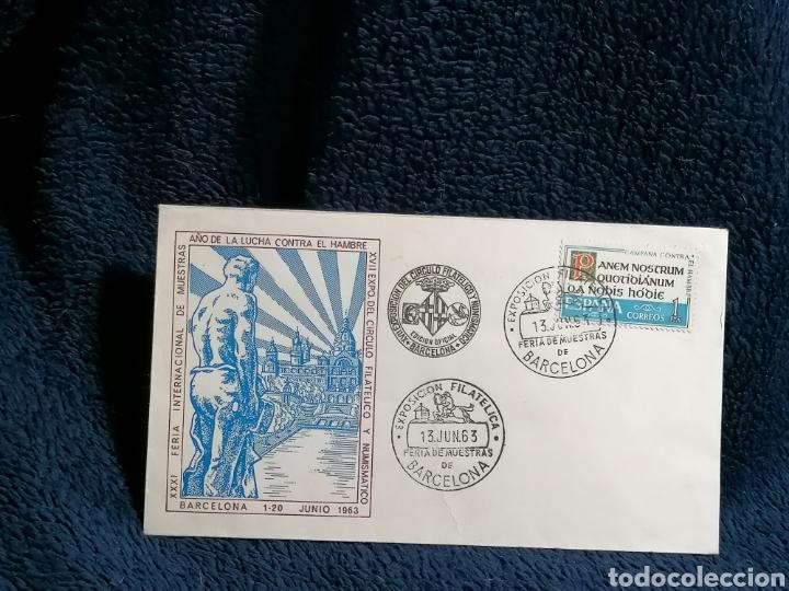 Sellos: España. Lote sellos sobres Exposiciones filatelicas Barcelona - Foto 3 - 229226970